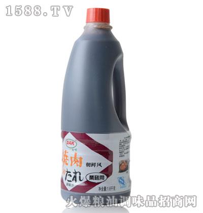 大可牌烧肉朝鲜风调味汁1.6L