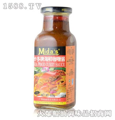 妙多牌海鲜咖喱酱600g