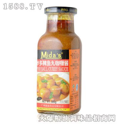 妙多牌鱼丸咖喱酱240g