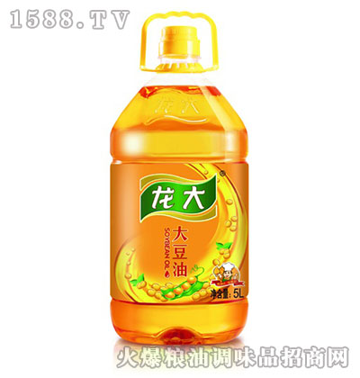 龙大大豆油5L