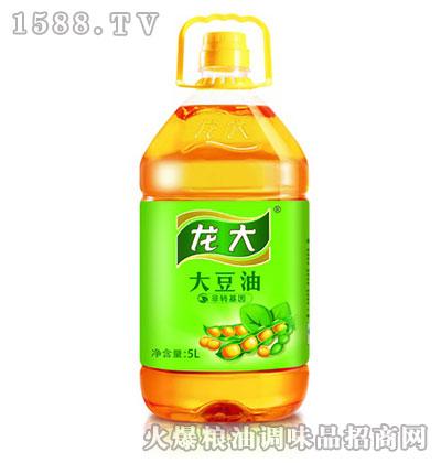 龙大非转基因大豆油5L