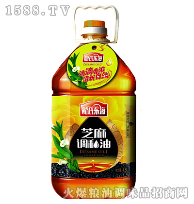 黎红杉龙氏东海芝麻调和油4500ml