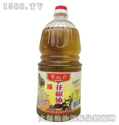 黎红杉花椒油1800ml