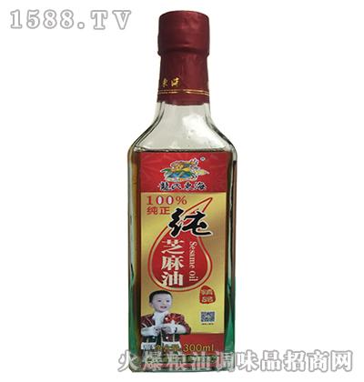 黎红杉龙氏东海纯芝麻油300ml