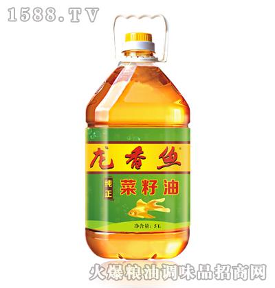 龙香鱼纯正菜籽油5L