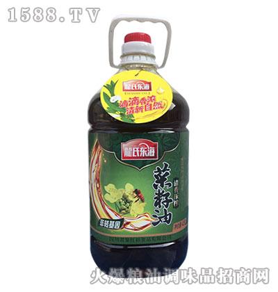龙氏东海清香压榨菜籽油4.5L