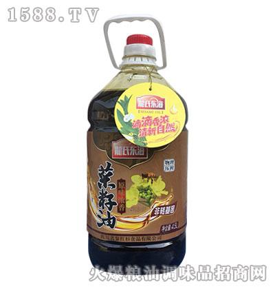龙氏东海原味浓香菜籽油4.5L