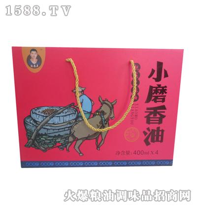 魏志勇小磨香油礼盒400MLX4