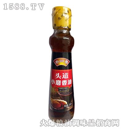 齐州香头道小磨香油200ml