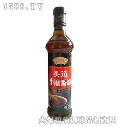 齐州香头道小磨香油250ml