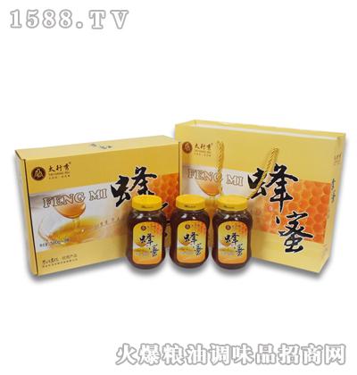 太行秀蜂蜜500gX3瓶
