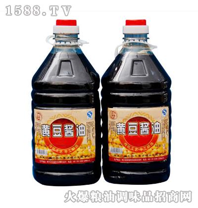 北国之春黄豆酱油3.2L