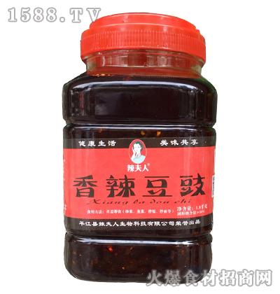 辣夫人香辣豆豉1.8千克