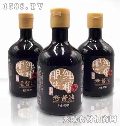 争荣老酱油480ml