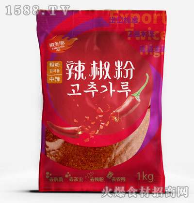 椒美辣辣椒粉(粗粉中辣)1kg
