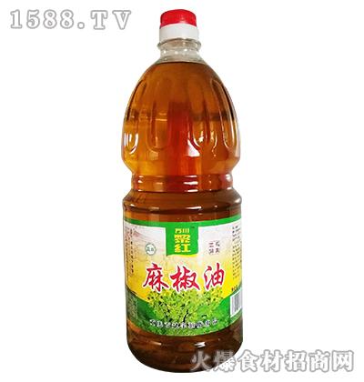 万川黎红麻椒油2.5L