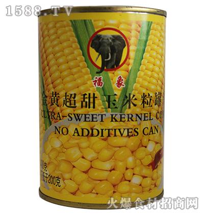 福象黄金超甜玉米粒罐头400g