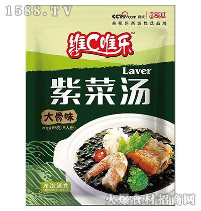 维C唯乐紫菜汤(大骨味)65g