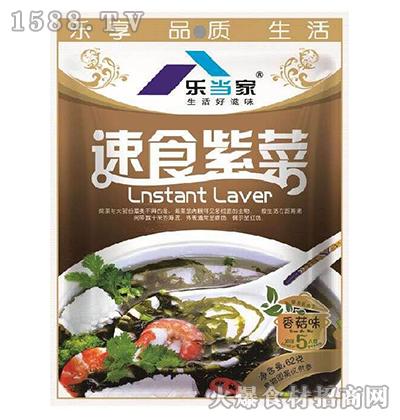 乐当家速食紫菜(香菇味)62g