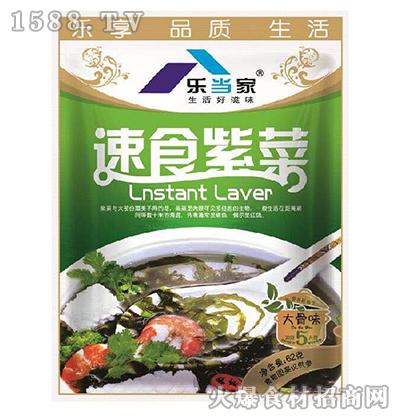 乐当家速食紫菜(大骨味)62g
