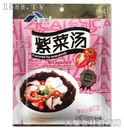 乐当家紫菜汤料(香菇味)