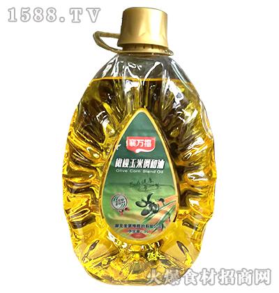 襄万福橄榄玉米调和油5L