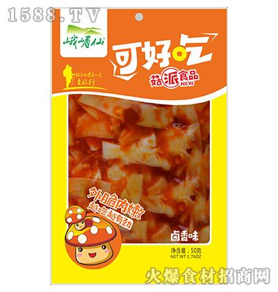 峨眉仙菇派食品卤香味50g