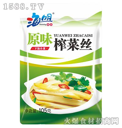 海明原味榨菜丝105g