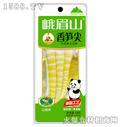 峨眉山香笋尖(山椒味)30g
