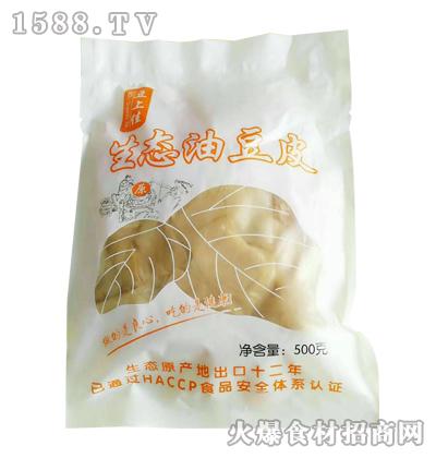 豆上佳生态油豆皮500克