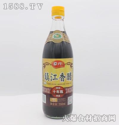 春丹镇江香醋十年陈原浆珍品550ml