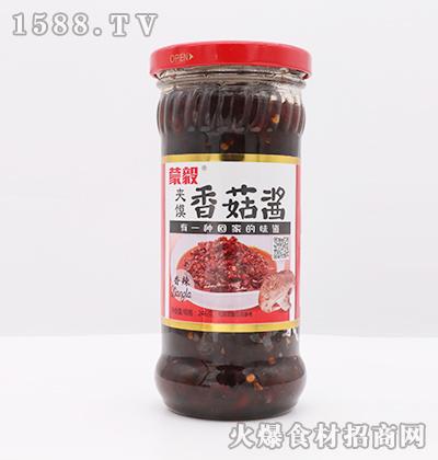 蒙毅-香辣夹馍香菇酱246g