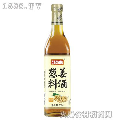 天籁亿味精制葱姜料酒500ml