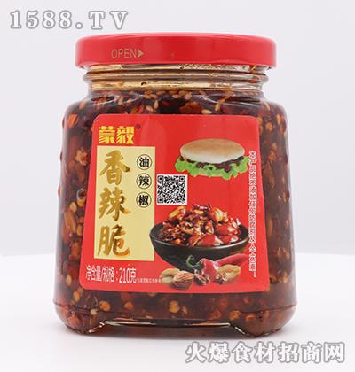 蒙毅-香辣脆油辣椒210g