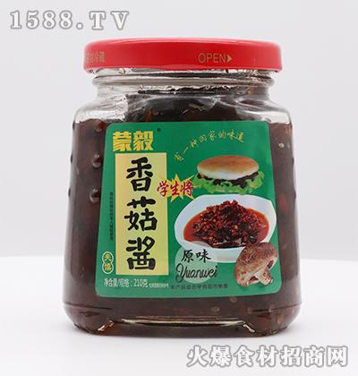 蒙毅-夹馍原味香菇酱210g