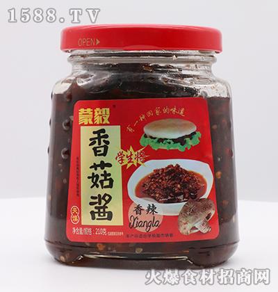 蒙毅-夹馍香辣香菇酱210g