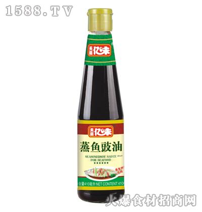 天籁亿味蒸鱼豉油410毫升