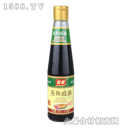 晋豪蒸鱼豉油410毫升