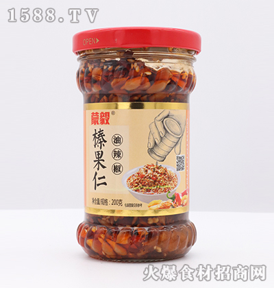 蒙毅-榛果仁油辣椒200g