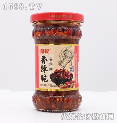 蒙毅香辣脆油辣椒210g