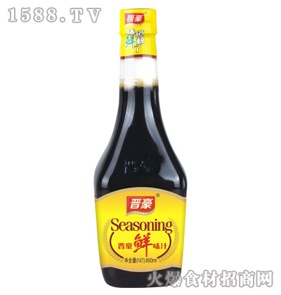 晋豪鲜味汁850ml