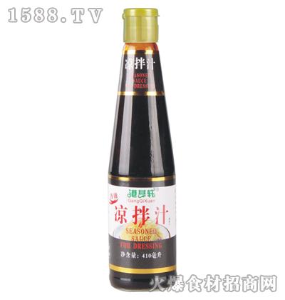 港其轩香辣凉拌汁410毫升