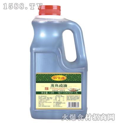 佰实选蒸鱼豉油1.9L