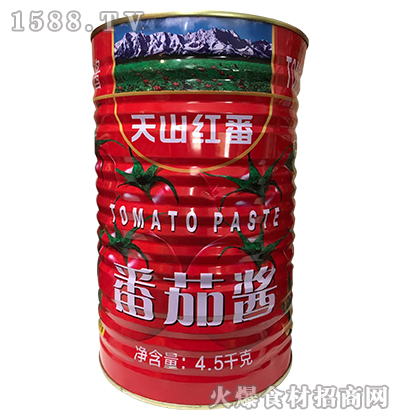 天山红番番茄酱4.5kg