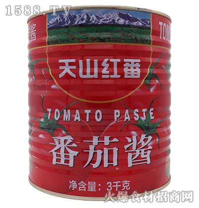 天山红番番茄酱3kg