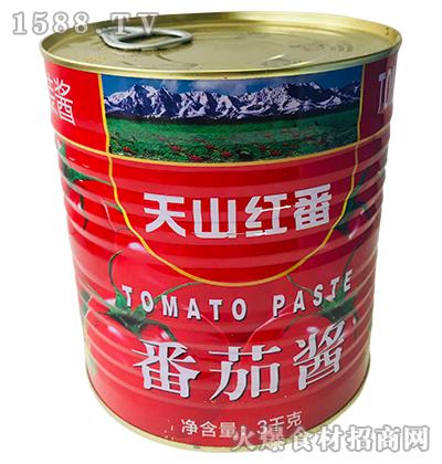 天山红番番茄酱3kg(罐装)