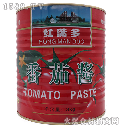 红满多番茄酱3kg