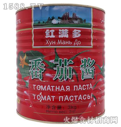 红满多番茄酱3kg(桶装)