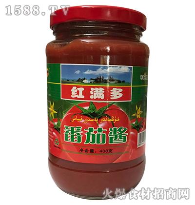 红满多番茄酱400g