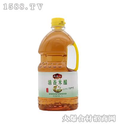 龙头山清香米醋1L-酿造食醋